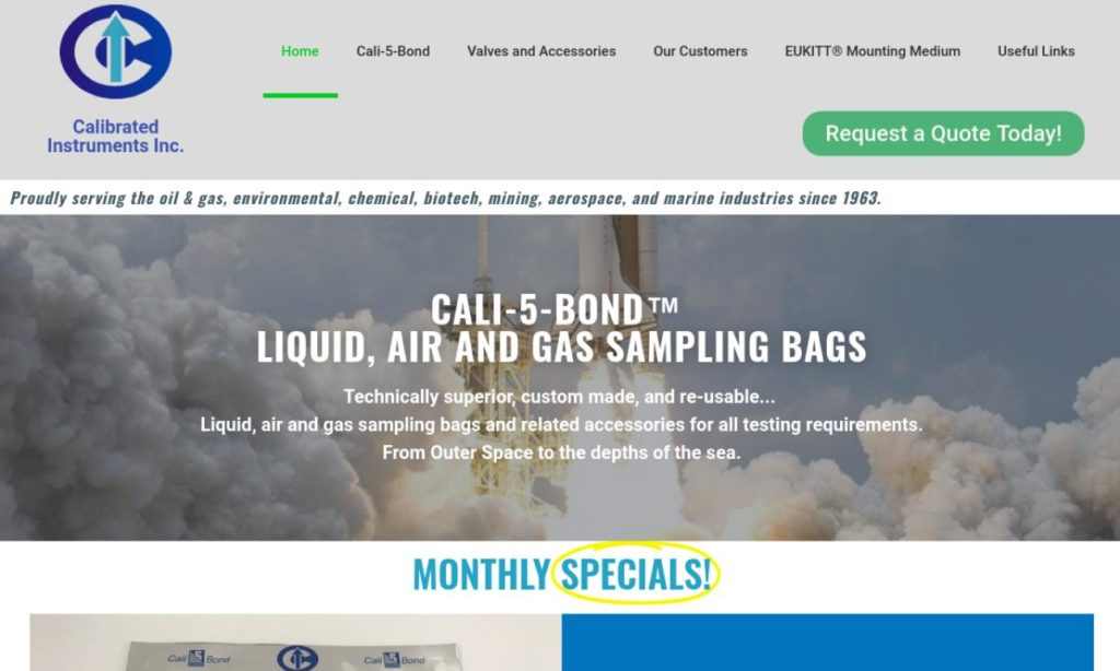 Calibrated Instruments, Inc.