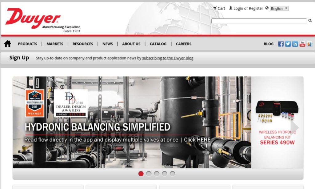 Dwyer Instruments, Inc.