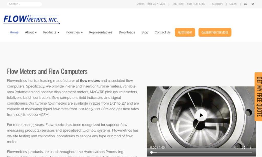 Flowmetrics, Inc.