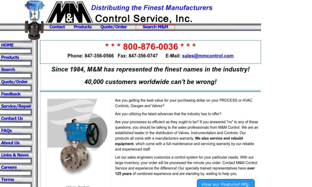 M & M Control Service, Inc.