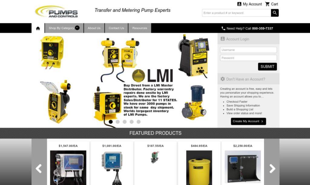 Pumps and Controls, Inc.