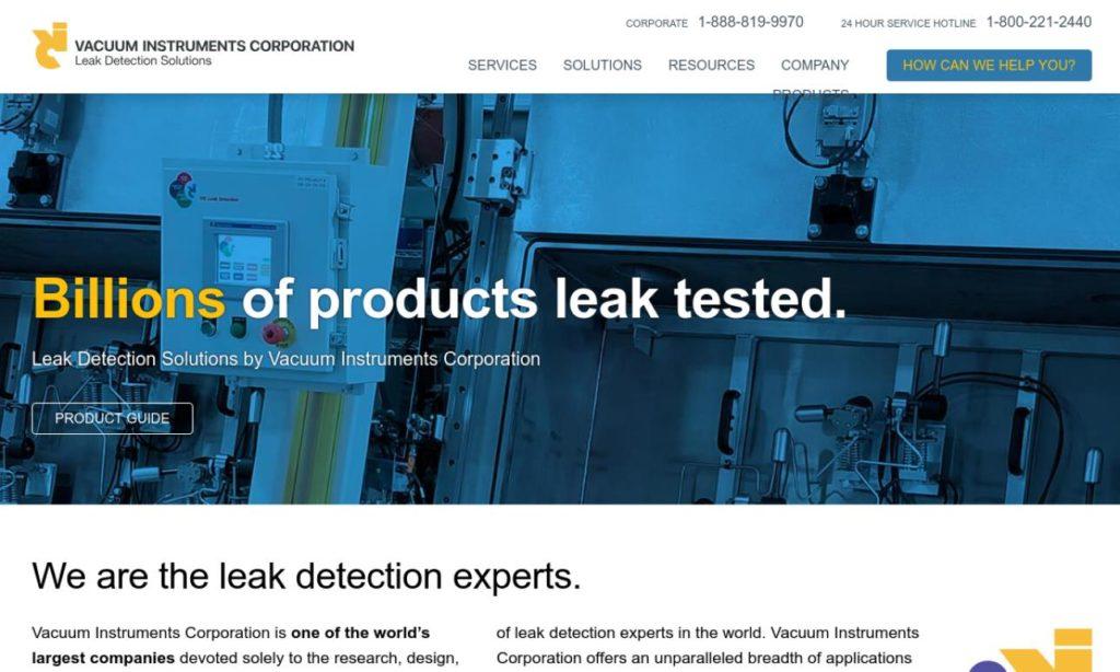 VIC Leak Detection